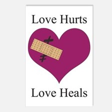 Love Hurts Postcards (Package of 8)