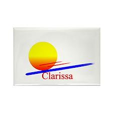 Clarissa Rectangle Magnet