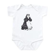 Cocker Spaniel BW Parti Infant Bodysuit