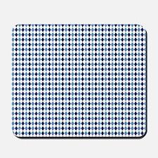 UNC Argyle Carolina Blue Tarheel Mousepad