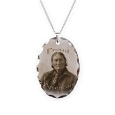 Geronimo, Proud American Necklace