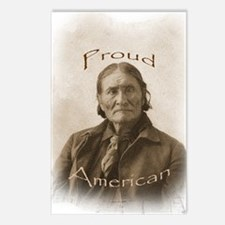 Geronimo, Proud American Postcards (Package of 8)