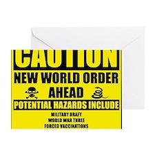 illuminati new world order 911 Greeting Card