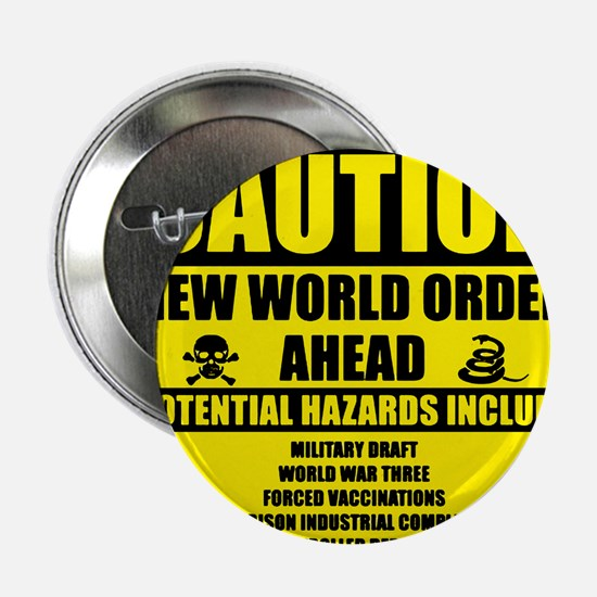 "illuminati new world order 911 2.25"" Button"
