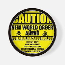 illuminati new world order 911 Wall Clock