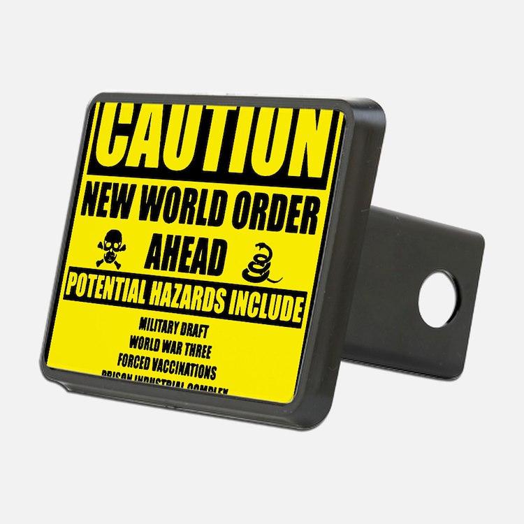 illuminati new world order Hitch Cover