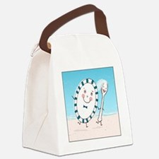 dishspoonsquare Canvas Lunch Bag