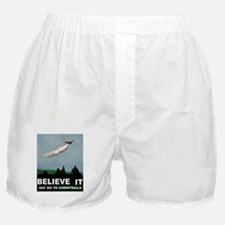 illuminati new world order 911 Boxer Shorts