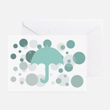 Cute Dorm Umbrella Greeting Cards (Pk of 20)