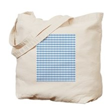 UNC Carolina Blue Argle Basketball Tote Bag