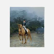 PB Piaffe Dressage Horse Throw Blanket