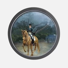 PB Piaffe Dressage Horse Wall Clock