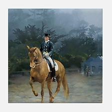 PB Piaffe Dressage Horse Tile Coaster