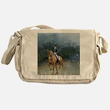 PB Piaffe Dressage Horse Messenger Bag