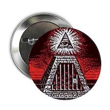 """illuminati new world order 911 2.25"""" Button"""