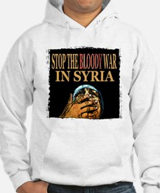 Stop The Bloody War In Syria Jumper Hoody