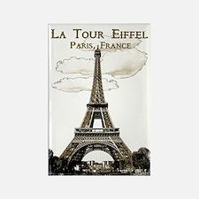 Eiffel Tower-Paris-France-1-Sepia Magnets
