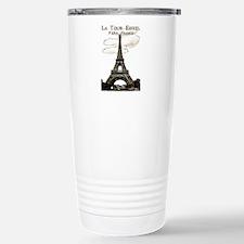 Eiffel Tower-Paris-France-1-Sepia Travel Mug