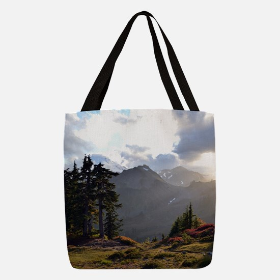 Magic in the Mountains Polyester Tote Bag