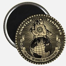 illuminati new world order 911 Magnet