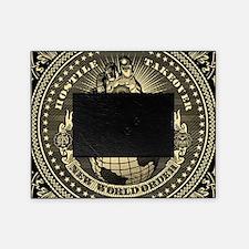 illuminati new world order 911 Picture Frame