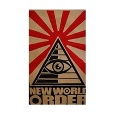 illuminati new world order 911 Decal
