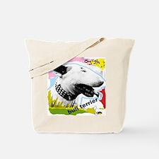 English Bull Terrier Punk Tote Bag