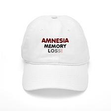 AMNESIA - MEMORY LOSS! Baseball Cap