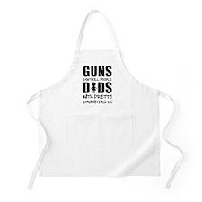 Guns Dont Kill People Apron