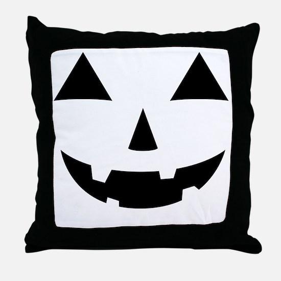 Jack-O-Lantern Maternity Tee Throw Pillow