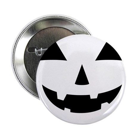 "Jack-O-Lantern Maternity Tee 2.25"" Button"