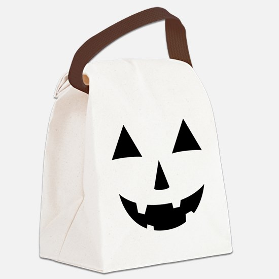 Jack-O-Lantern Maternity Tee Canvas Lunch Bag