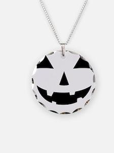 Jack-O-Lantern Maternity Tee Necklace