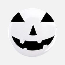 "Jack-O-Lantern Maternity Tee 3.5"" Button"