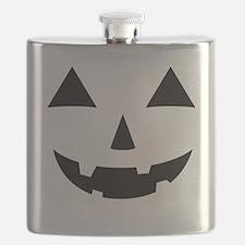 Jack-O-Lantern Maternity Tee Flask