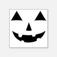 "Jack-O-Lantern Maternity Te Square Sticker 3"" x 3"""