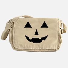 Jack-O-Lantern Maternity Tee Messenger Bag