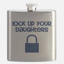 Lock Up Your Daughters Flask