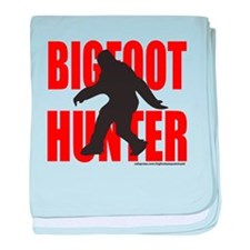 BIGFOOT/SASQUATCH HUNTER baby blanket