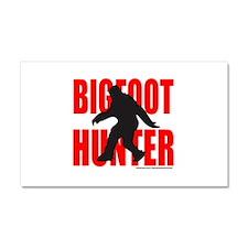BIGFOOT/SASQUATCH HUNTER Car Magnet 20 x 12