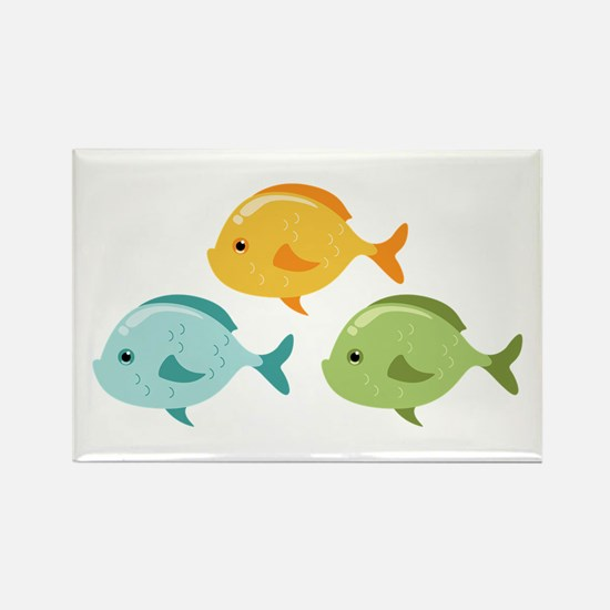 Colorful Fish Magnets