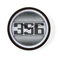 356 copy dark Wall Clock
