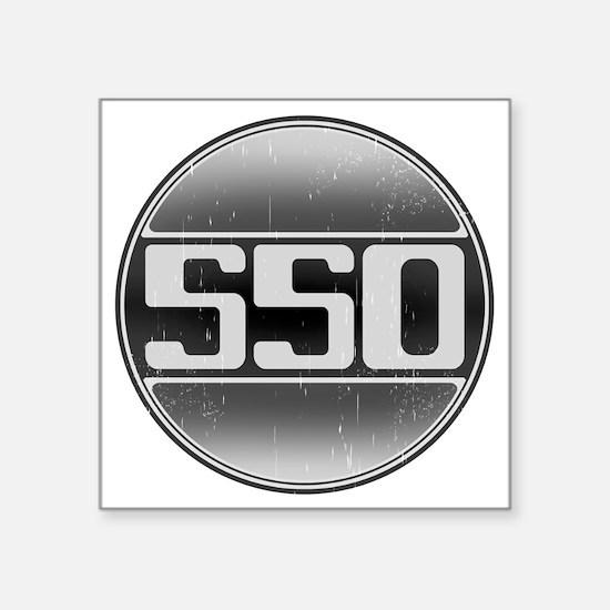 """550 copy Square Sticker 3"""" x 3"""""""