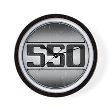 550 copy dark Wall Clock