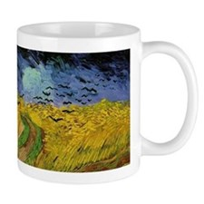 Van Gogh Wheat Field with Crows Mugs