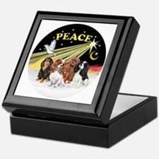 X-Dove - Four Cavaliers Keepsake Box