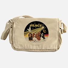 X-Dove - Four Cavaliers Messenger Bag