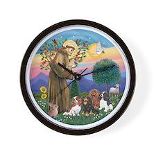 St Francis / 4 Cavaliers Wall Clock