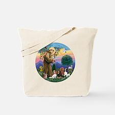 St Francis / 4 Cavaliers Tote Bag