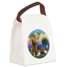 St Francis / 4 Cavaliers Canvas Lunch Bag